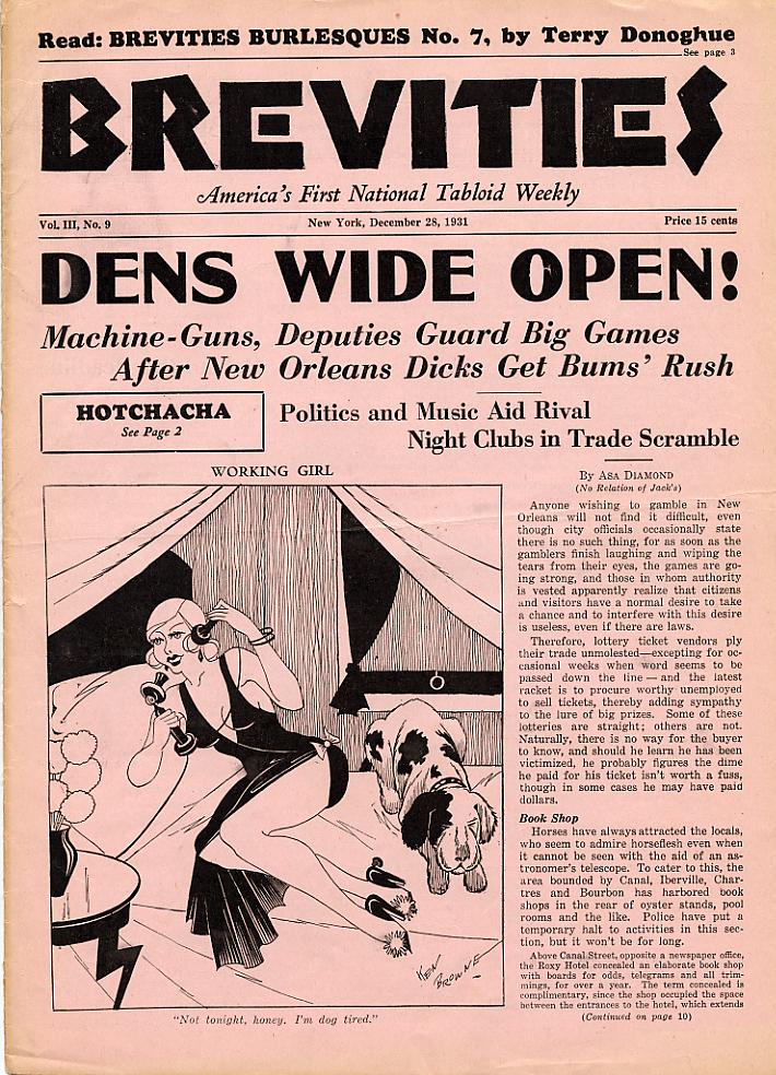 Brevities 1931 12 28
