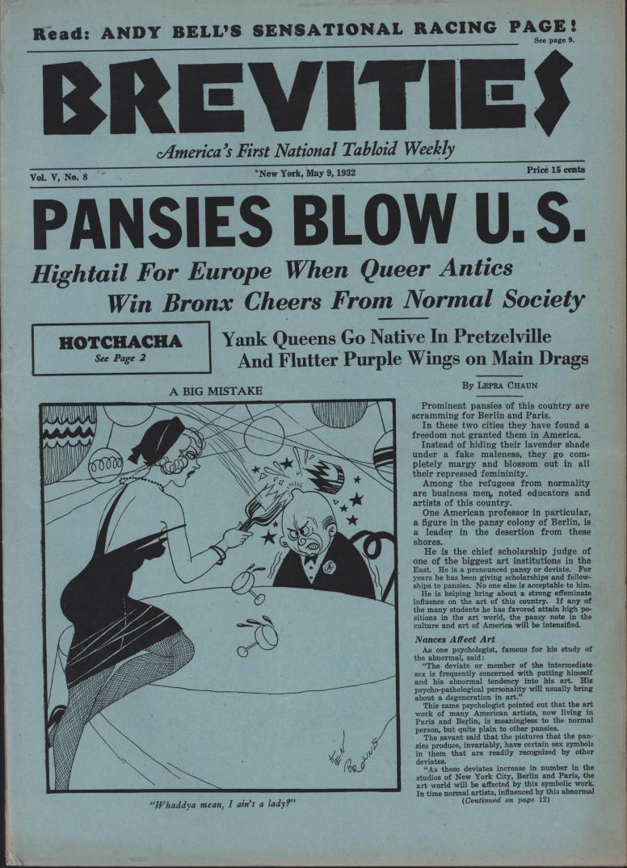Brevities 1932 05 09