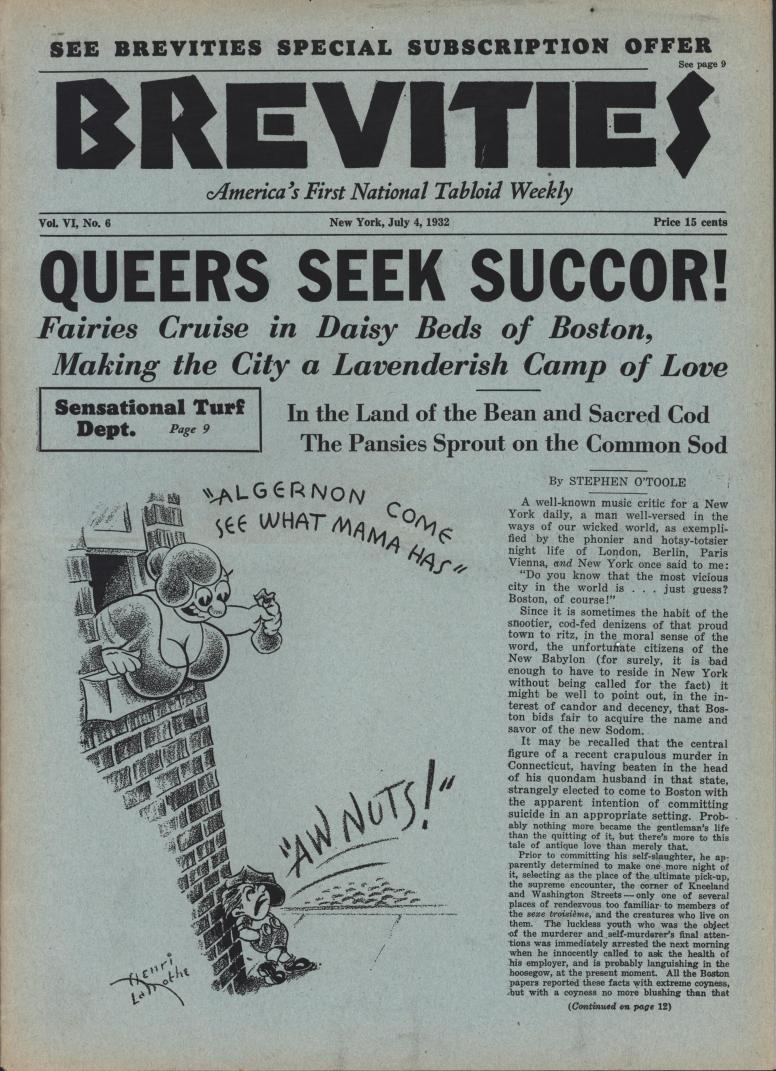 Brevities 1932 07 04