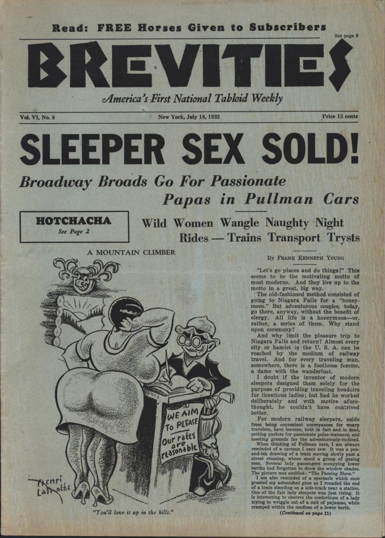 Brevities 1932 07 18