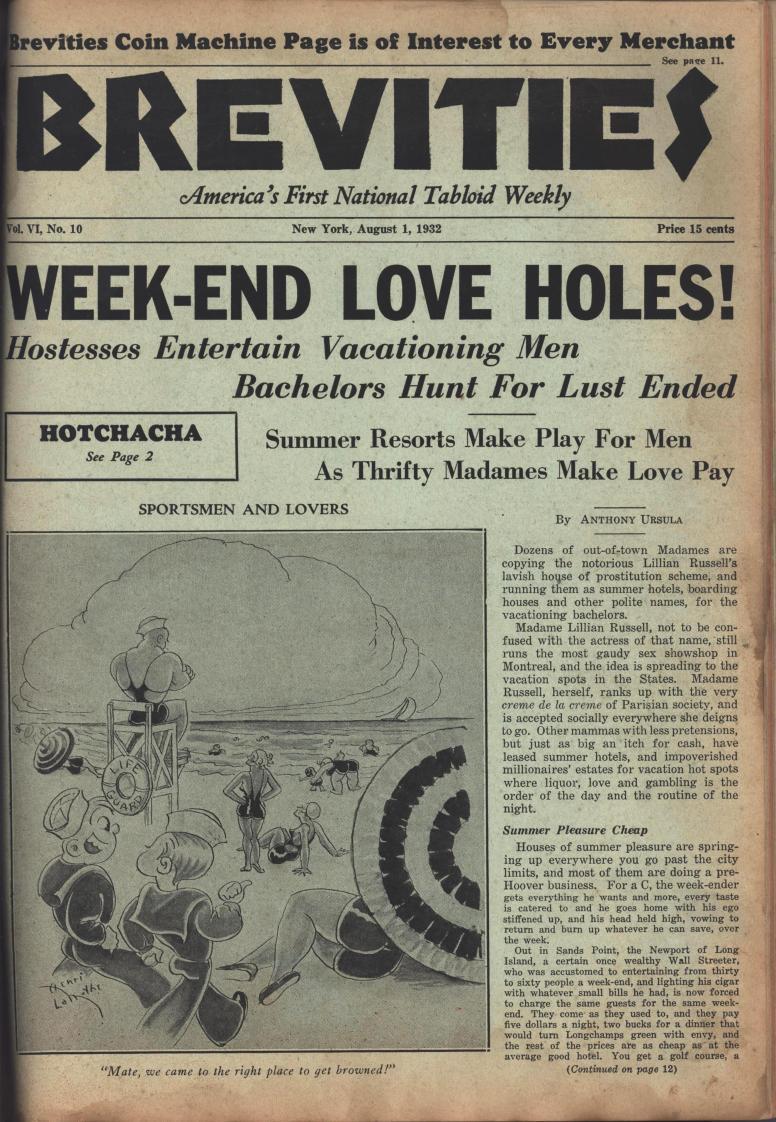 Brevities 1932 08 01
