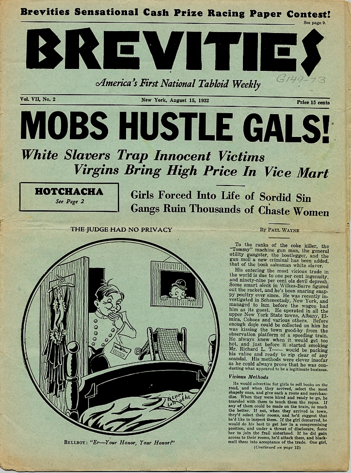 Brevities 1932 08 15