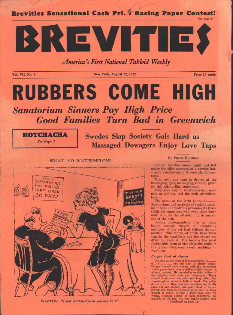 Brevities 1932 08 22