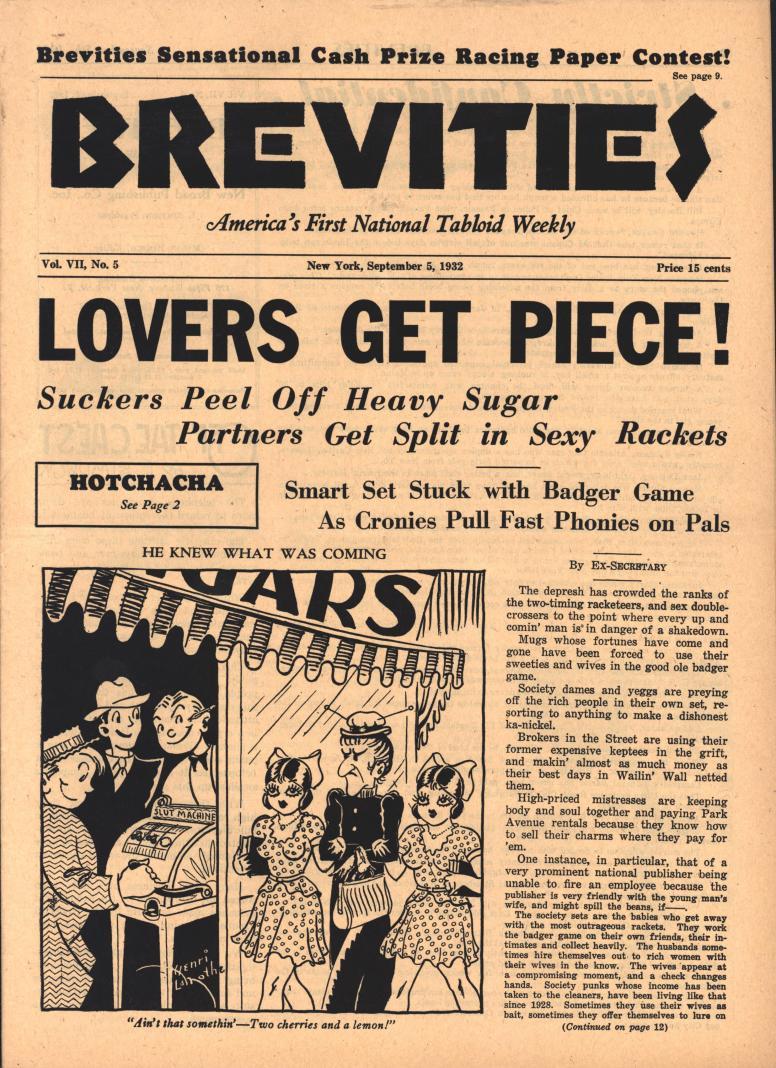 Brevities 1932 09 05