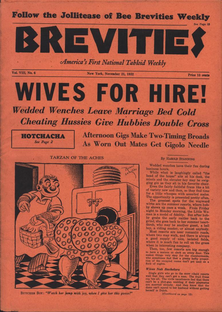 Brevities 1932 11 21