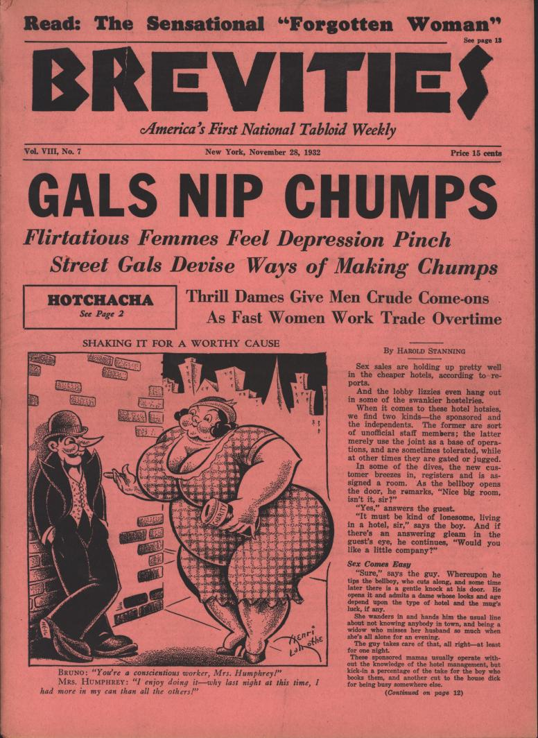 Brevities 1932 11 28