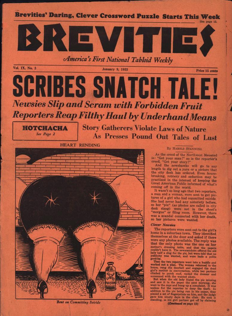 Brevities 1933 01 09