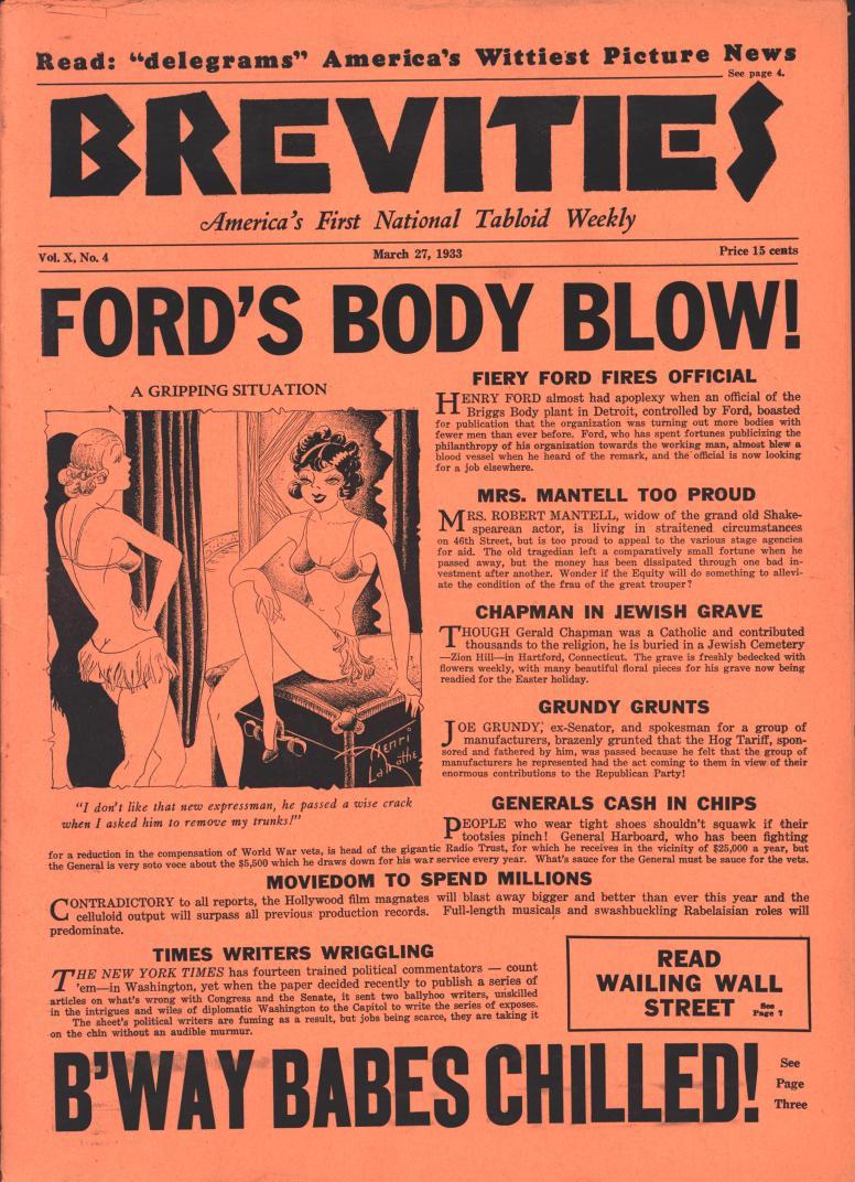 Brevities 1933 03 27