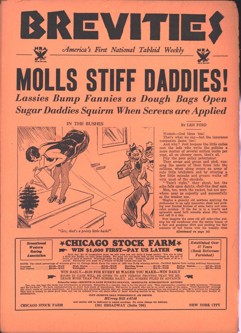 Brevities 1933 10 12 bc