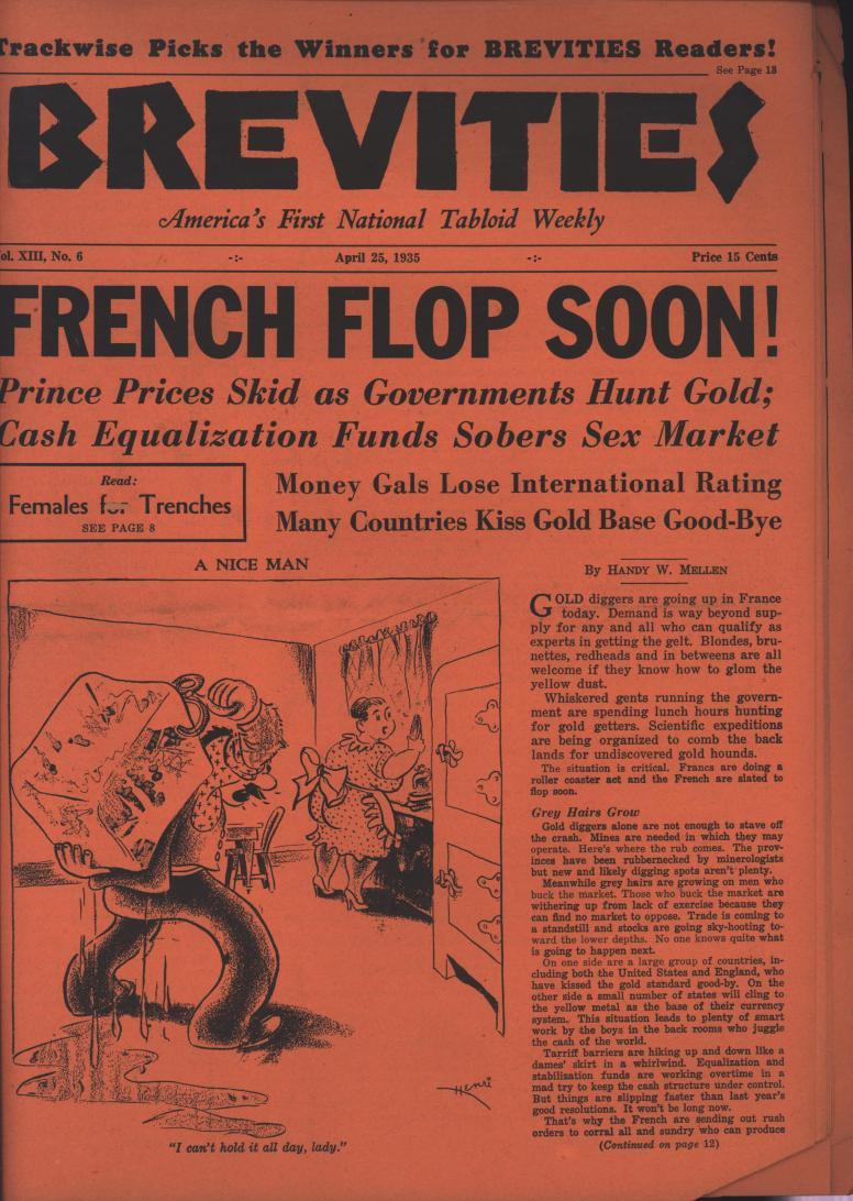 Brevities 1935 04 25 from album