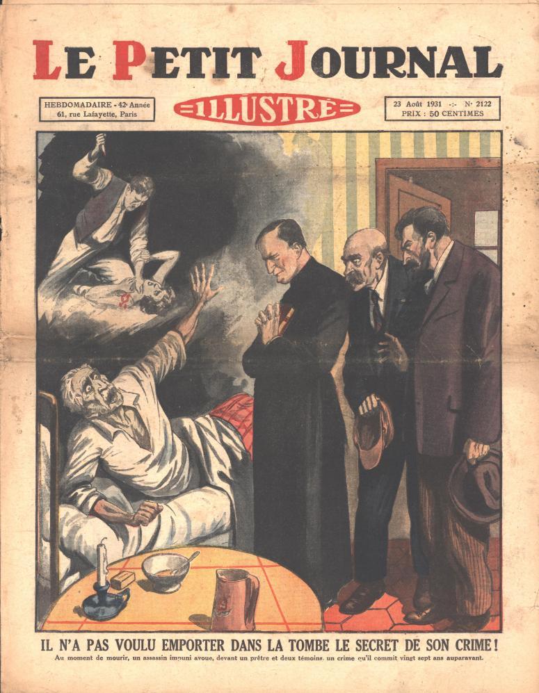 Le Petit Journal Illustré 1931 August 23