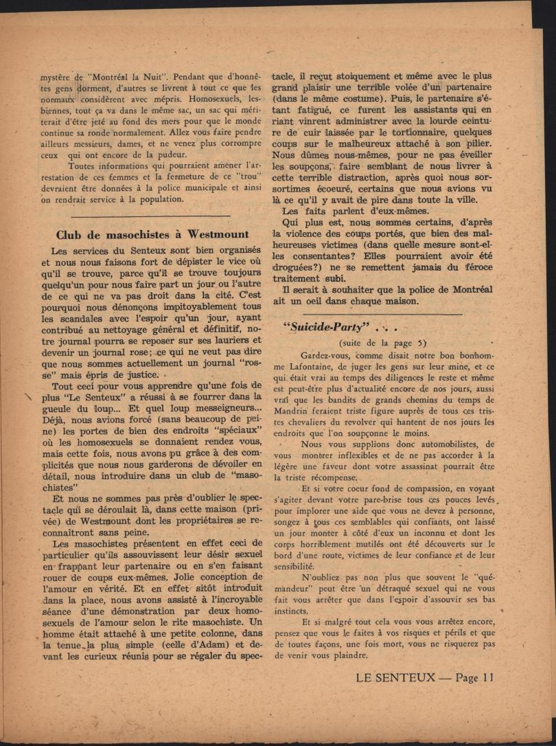 Le Senteux no date pp 11