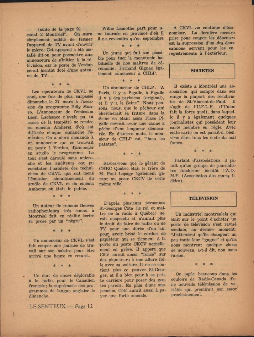Le Senteux no date pp 12