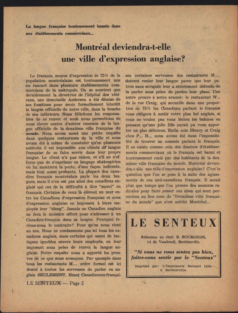 Le Senteux no date pp 2
