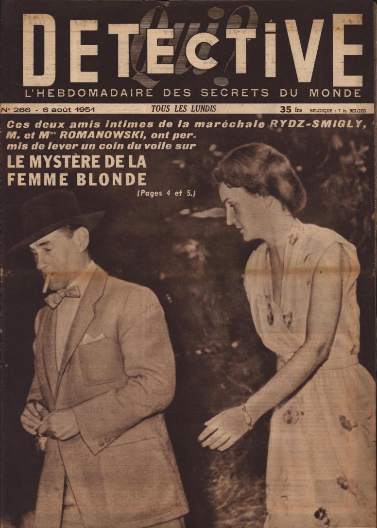 Qui Détective 1951 08 06