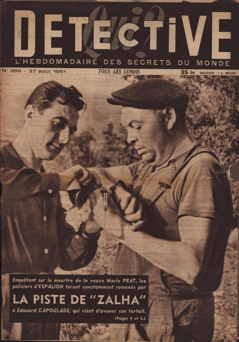 Qui Détective 1951 08 27