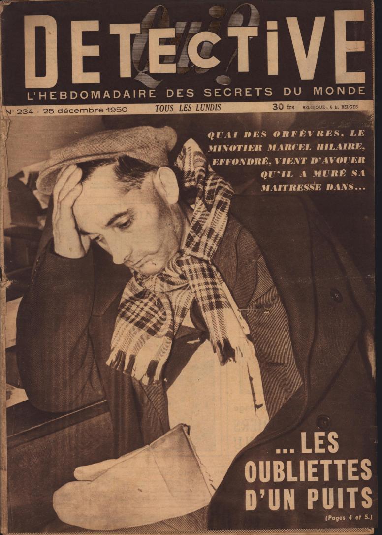 Qui Detective 1950 12 25