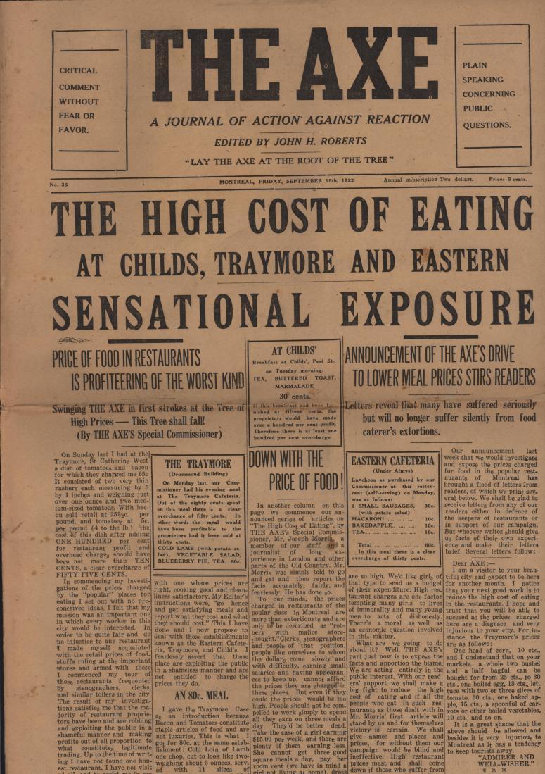 The Axe 1922 09 15