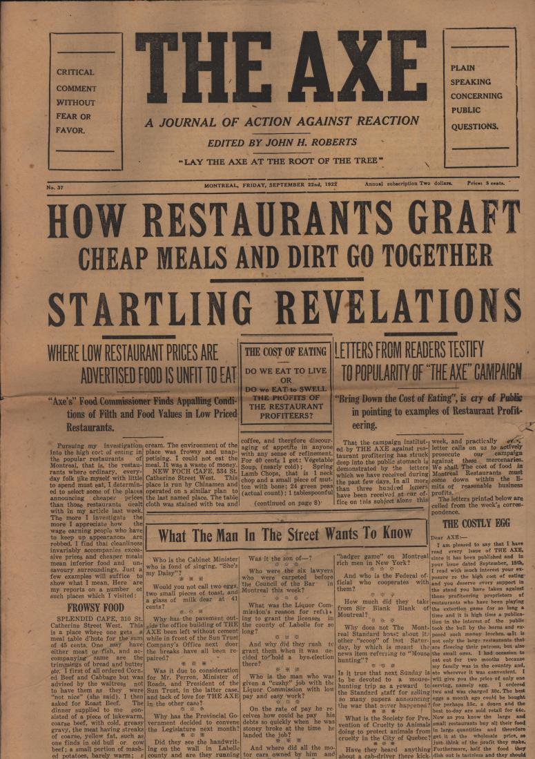 The Axe 1922 09 22