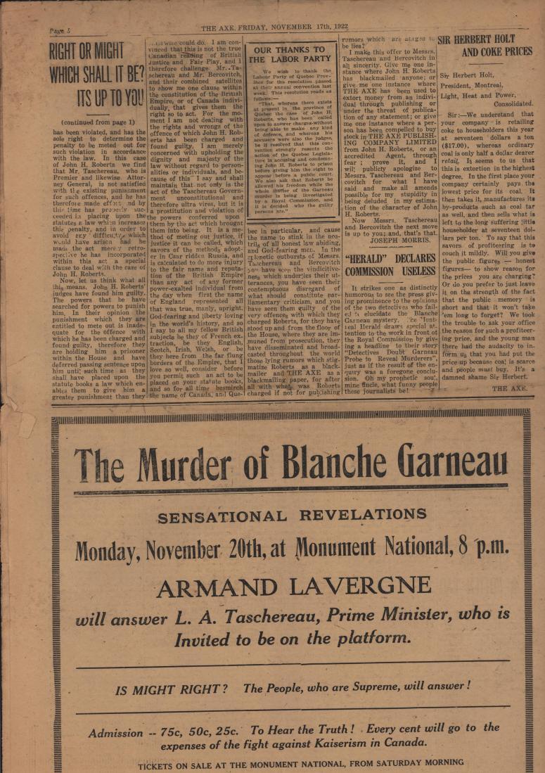 The Axe 1922 11 17 bc