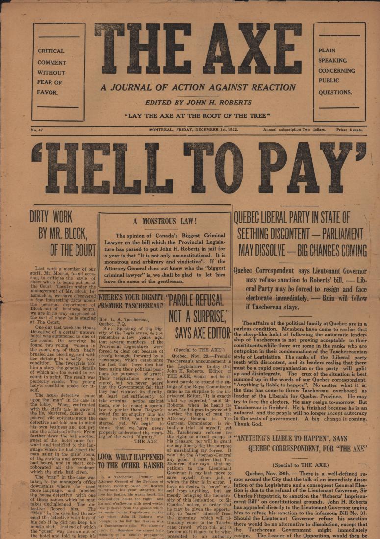 The Axe 1922 12 01