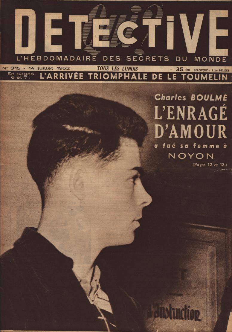 Qui Détective 1952 07 14
