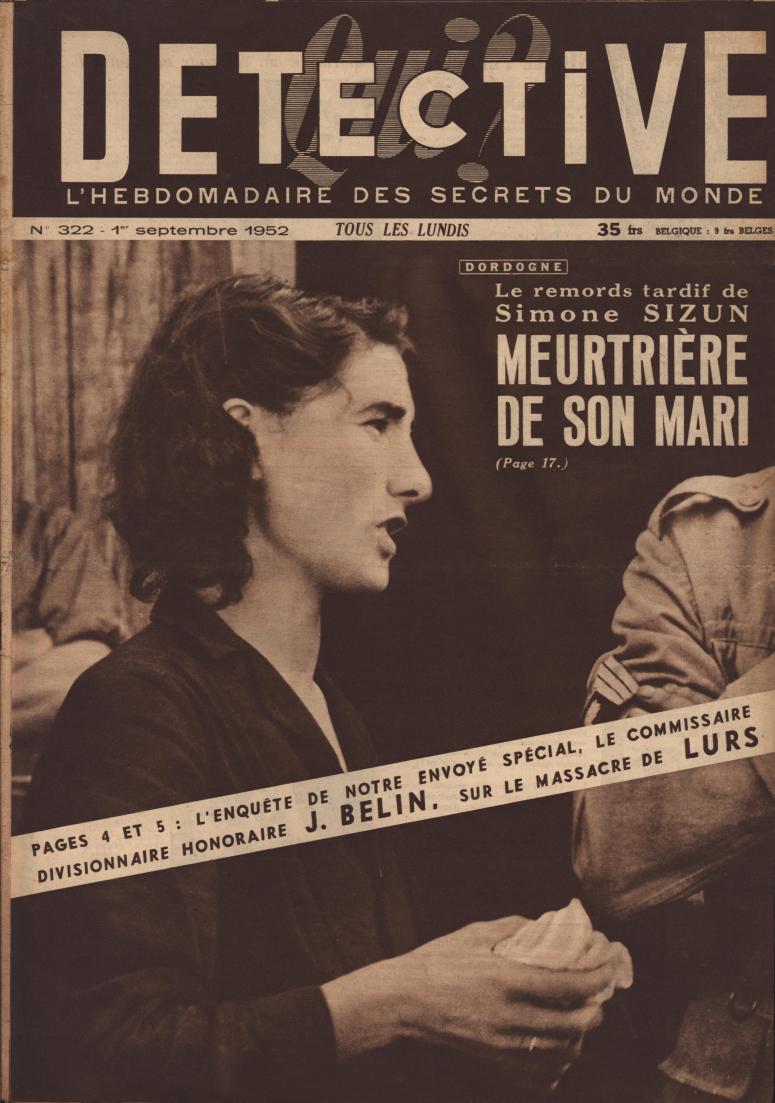 Qui Détective 1952 09 01