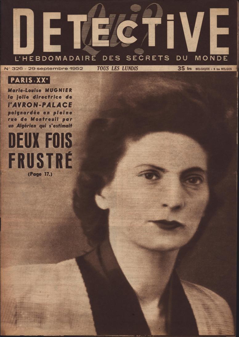 Qui Détective 1952 09 29