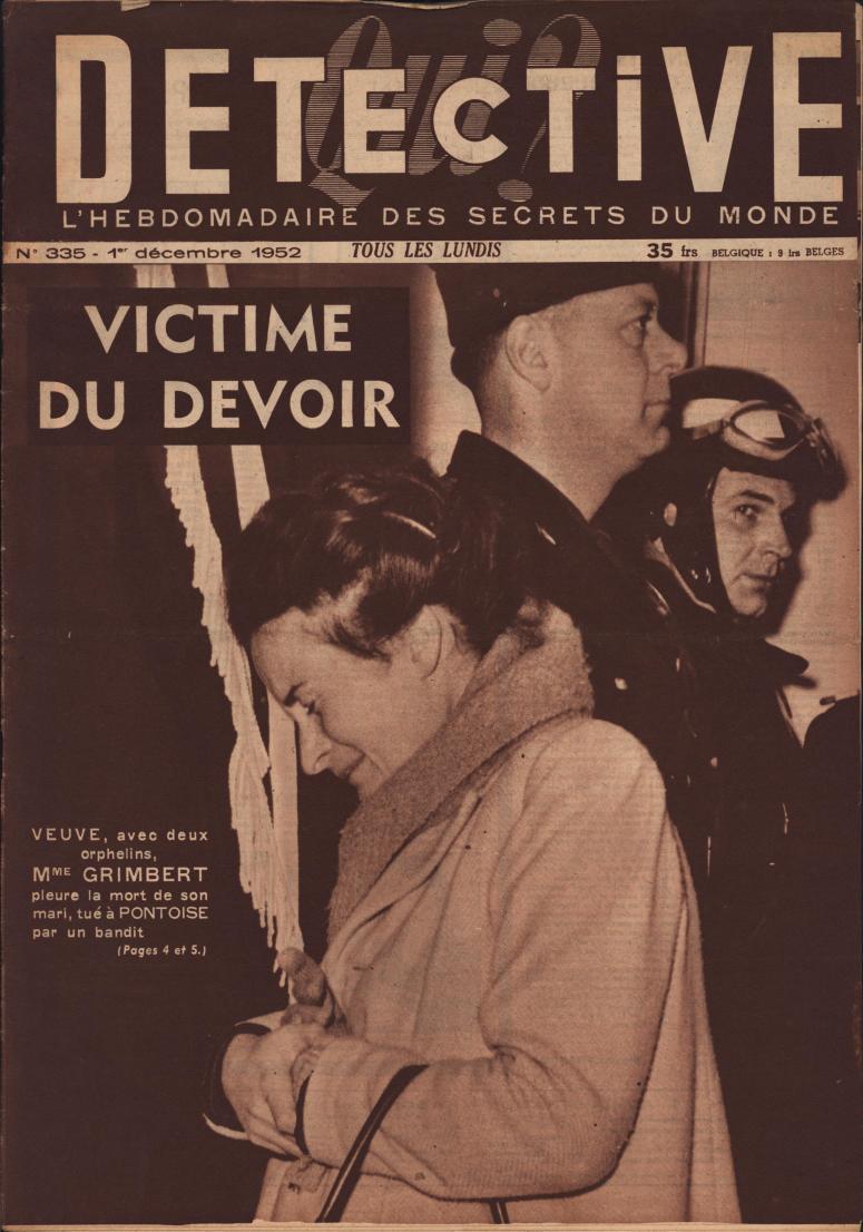 Qui Détective 1952 12 01