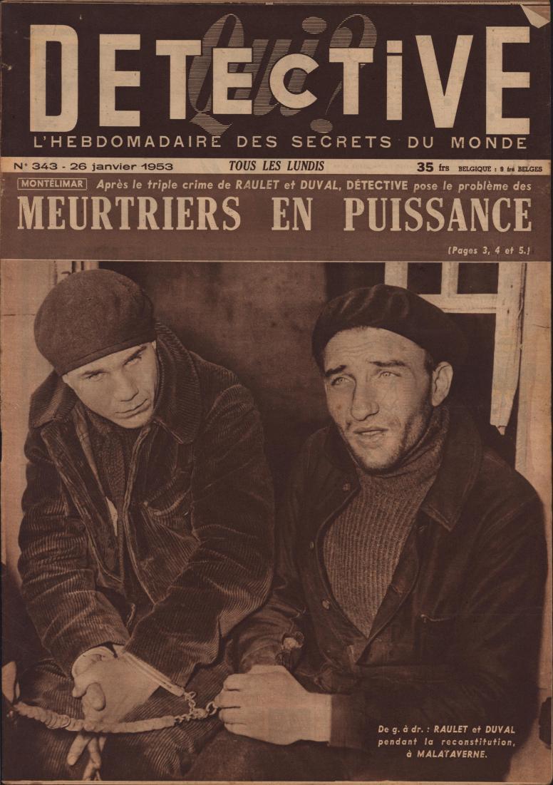 Qui Détective 1953 01 26
