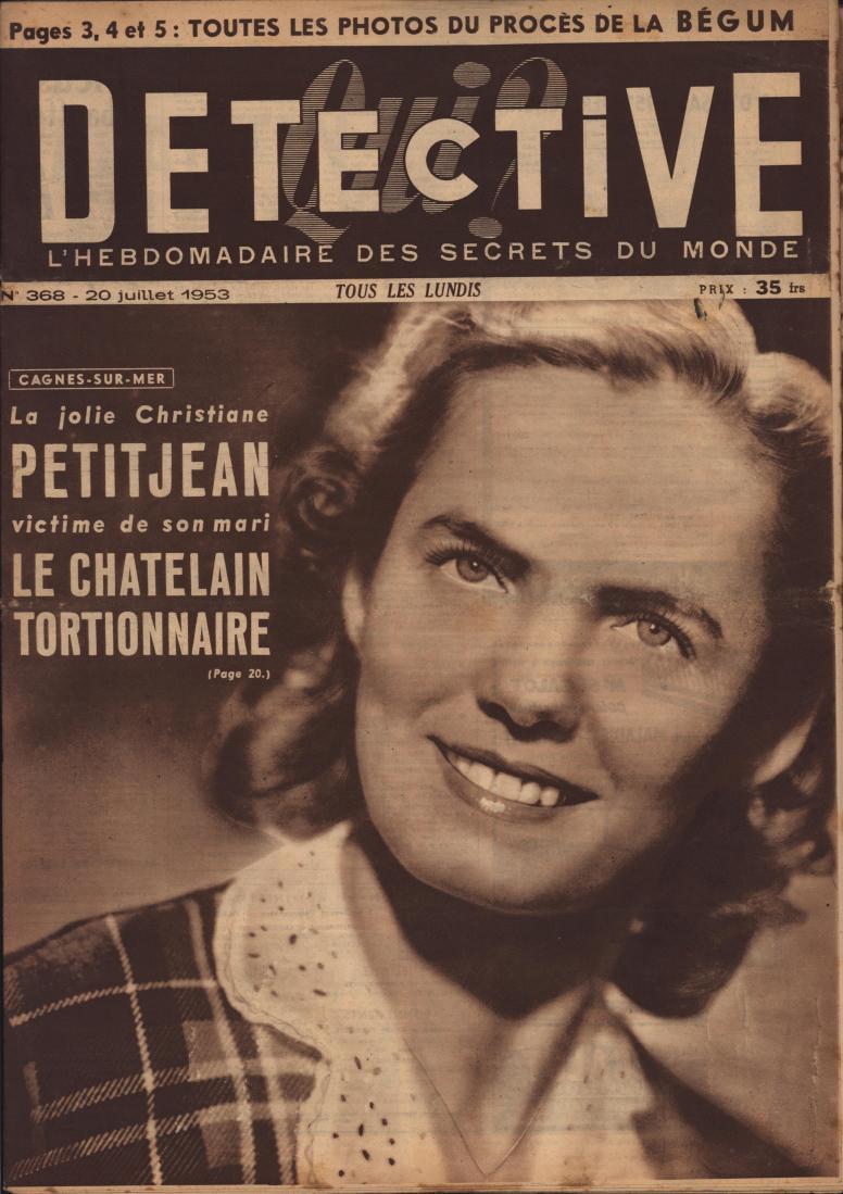 Qui Détective 1953 07 20