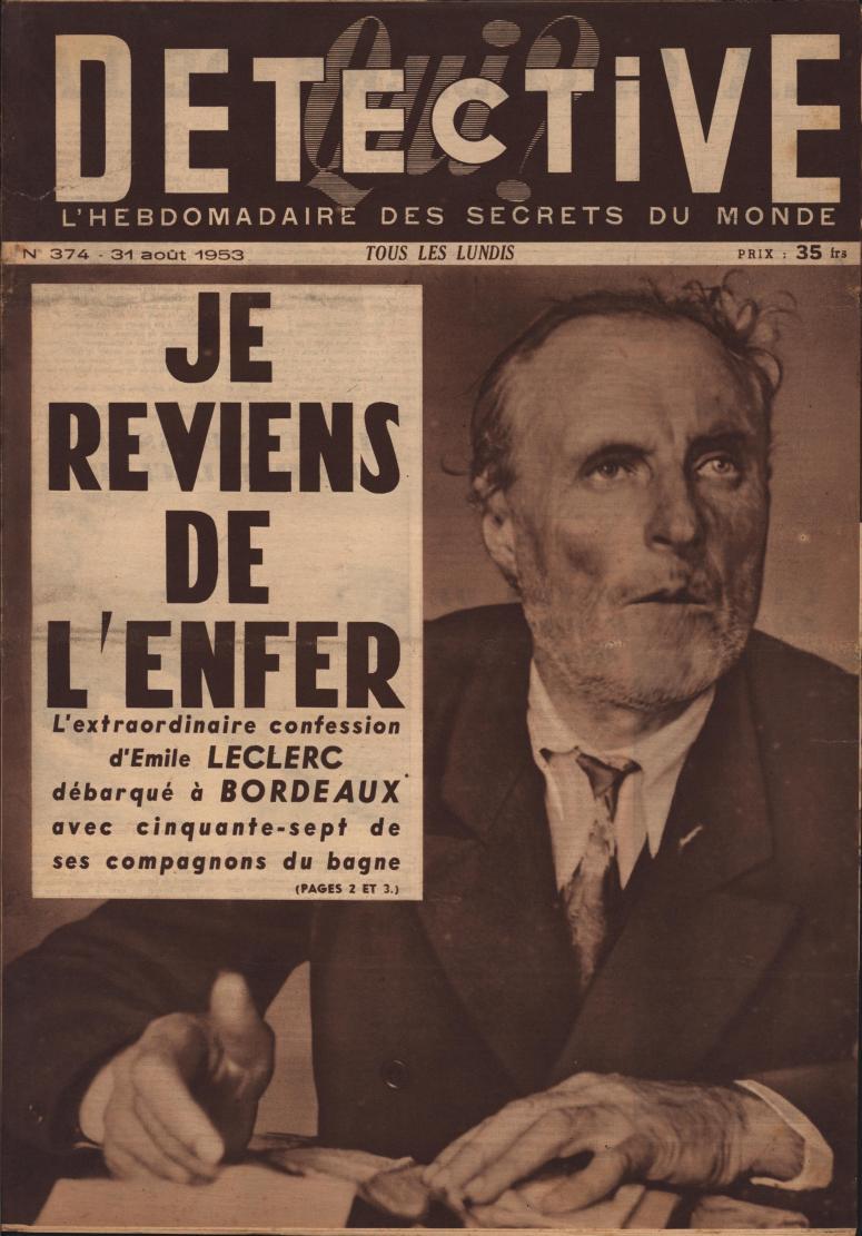 Qui Détective 1953 08 31