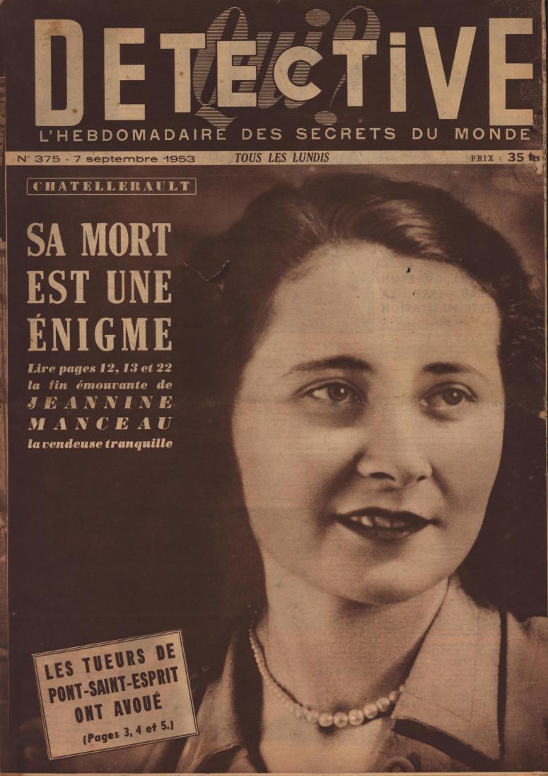 Qui Détective 1953 09 07