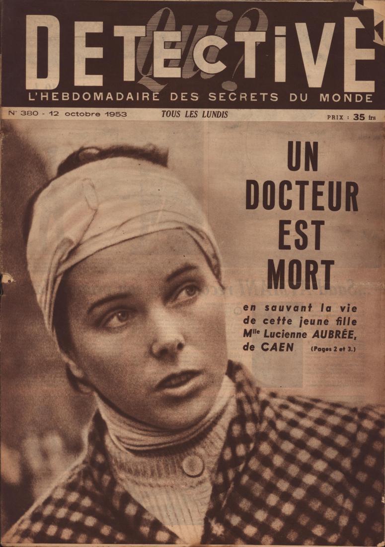 Qui Détective 1953 10 12