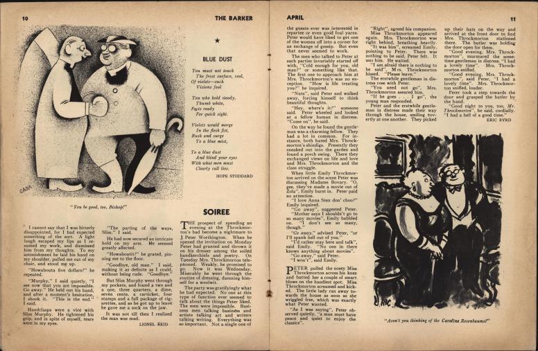 The Barker vol 1 no 1 pp 10-11