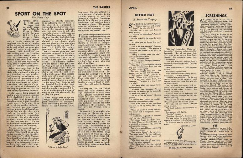 The Barker vol 1 no 1 pp 24-25
