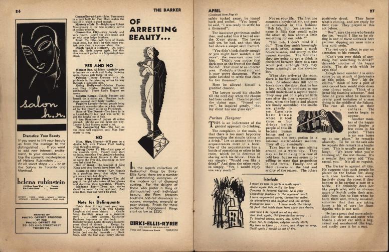 The Barker vol 1 no 1 pp 26-27