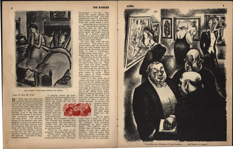 The Barker vol 1 no 1 pp 4-5