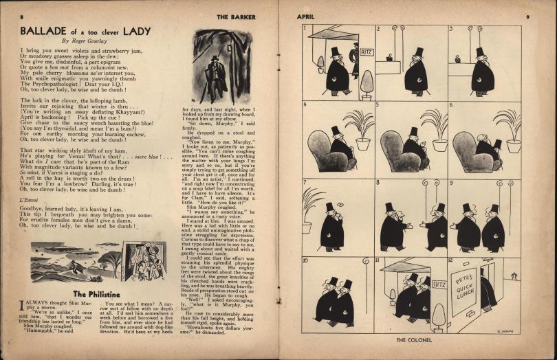 The Barker vol 1 no 1 pp 8-9