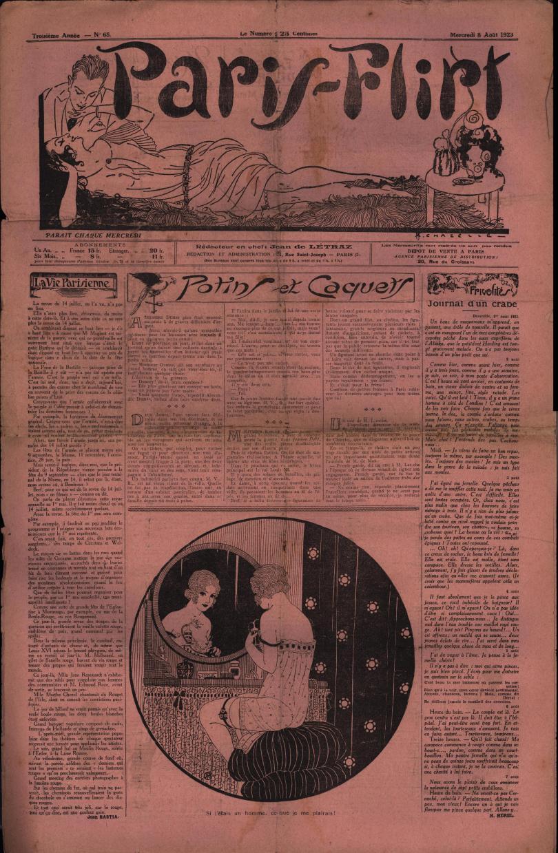 Paris-Flirt 1923 08 08