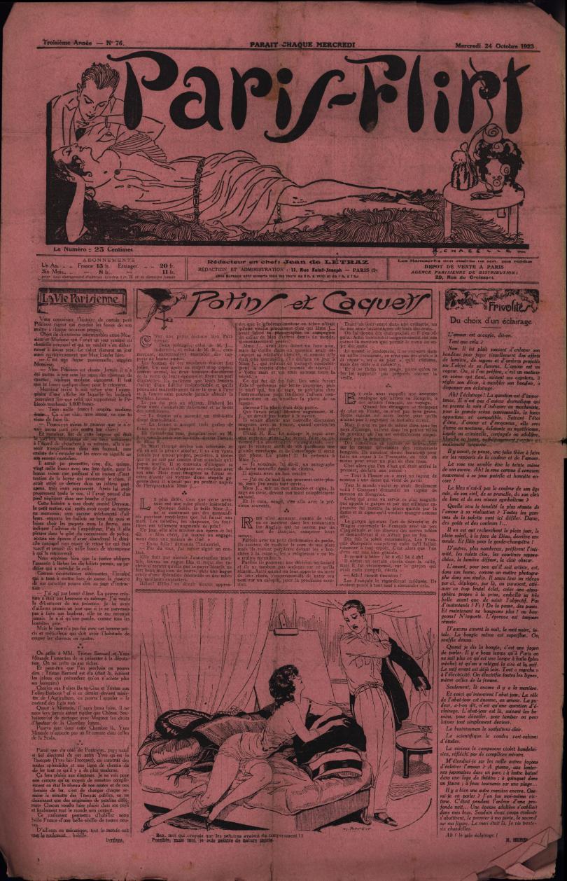 Paris-Flirt 1923 10 24