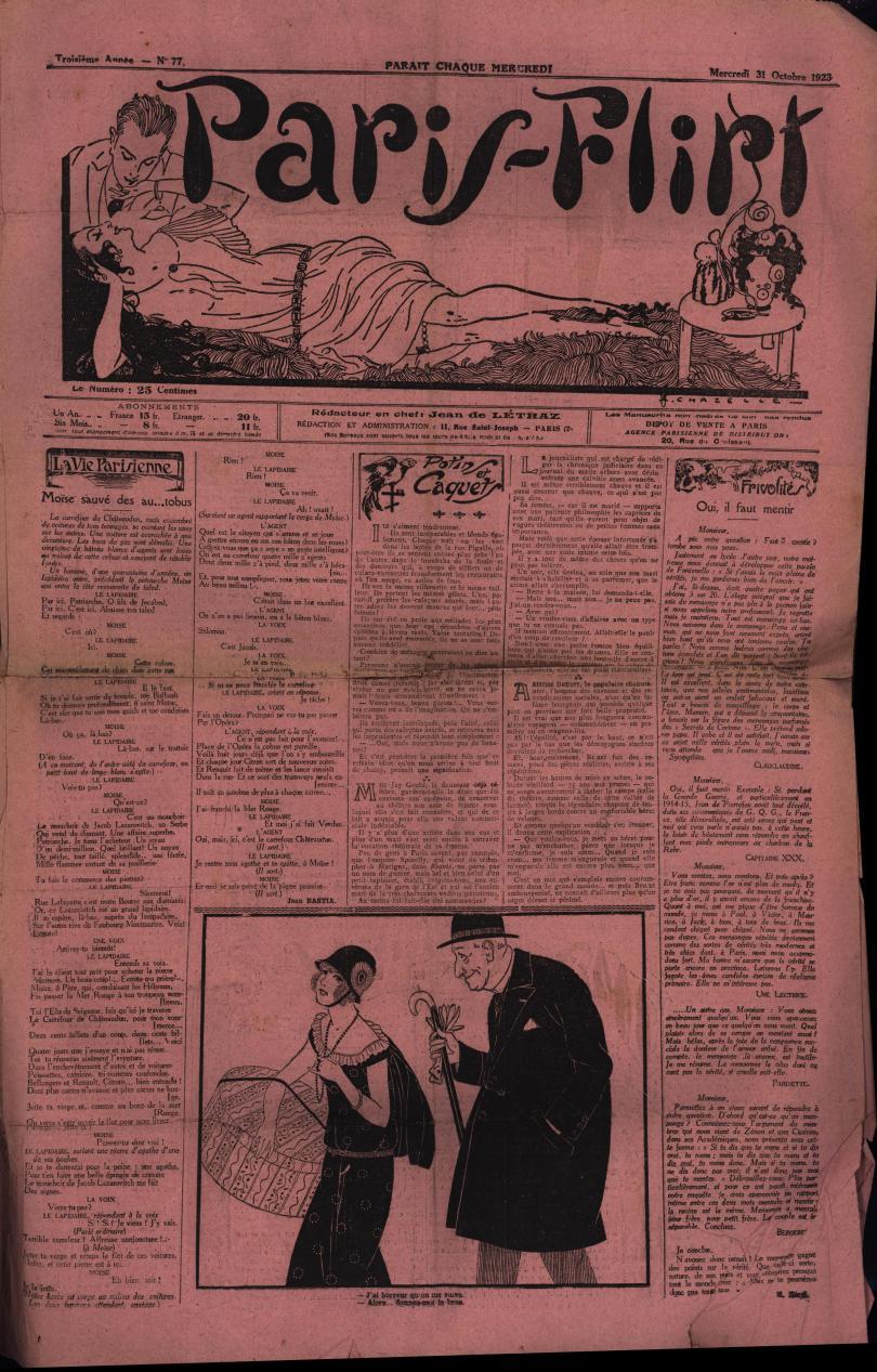 Paris-Flirt 1923 10 31