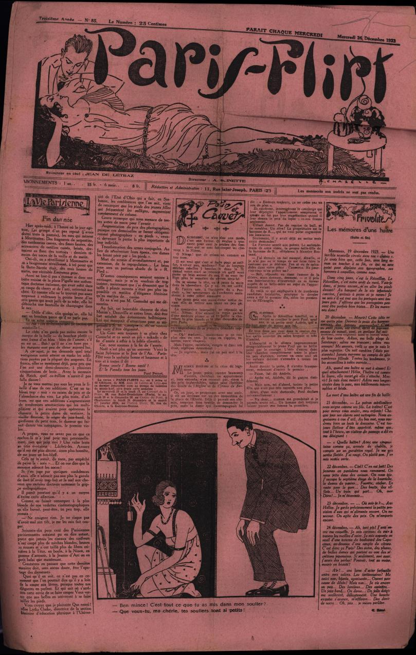 Paris-Flirt 1923 12 26