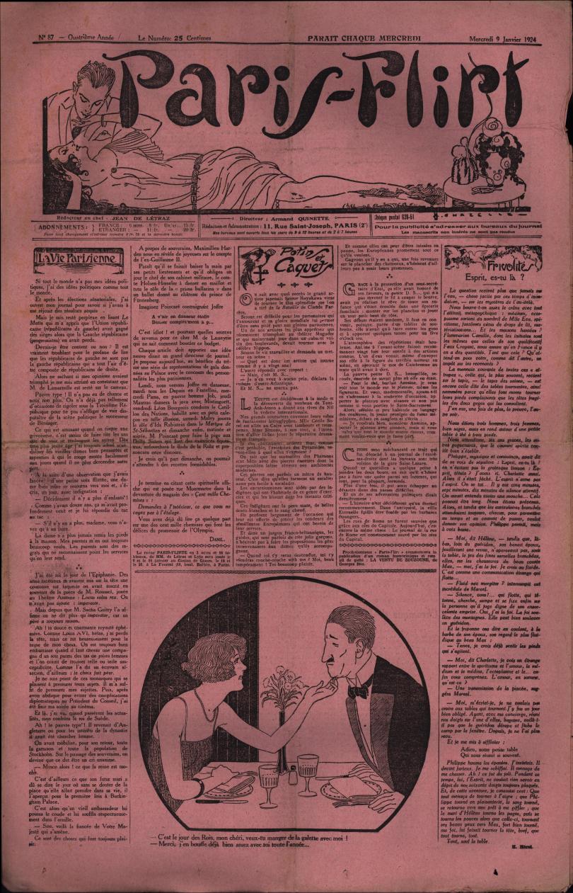 Paris-Flirt 1924 01 09