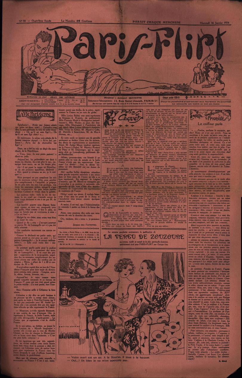Paris-Flirt 1924 01 16