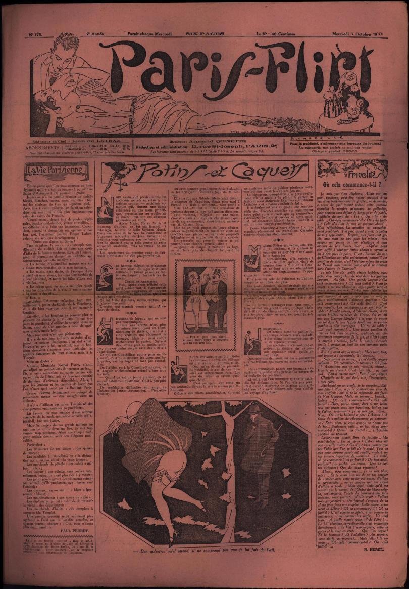 Paris-Flirt 1925 10 07