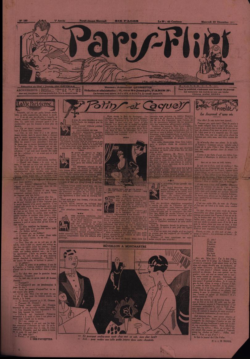 Paris-Flirt 1925 12 23