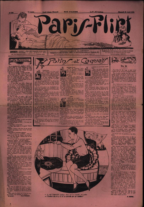 Paris-Flirt 1926 04 21
