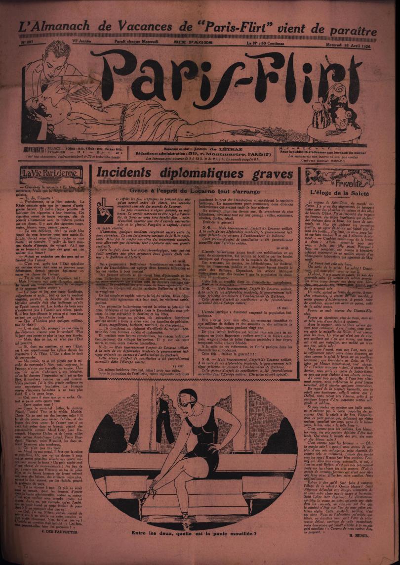 Paris-Flirt 1926 04 28