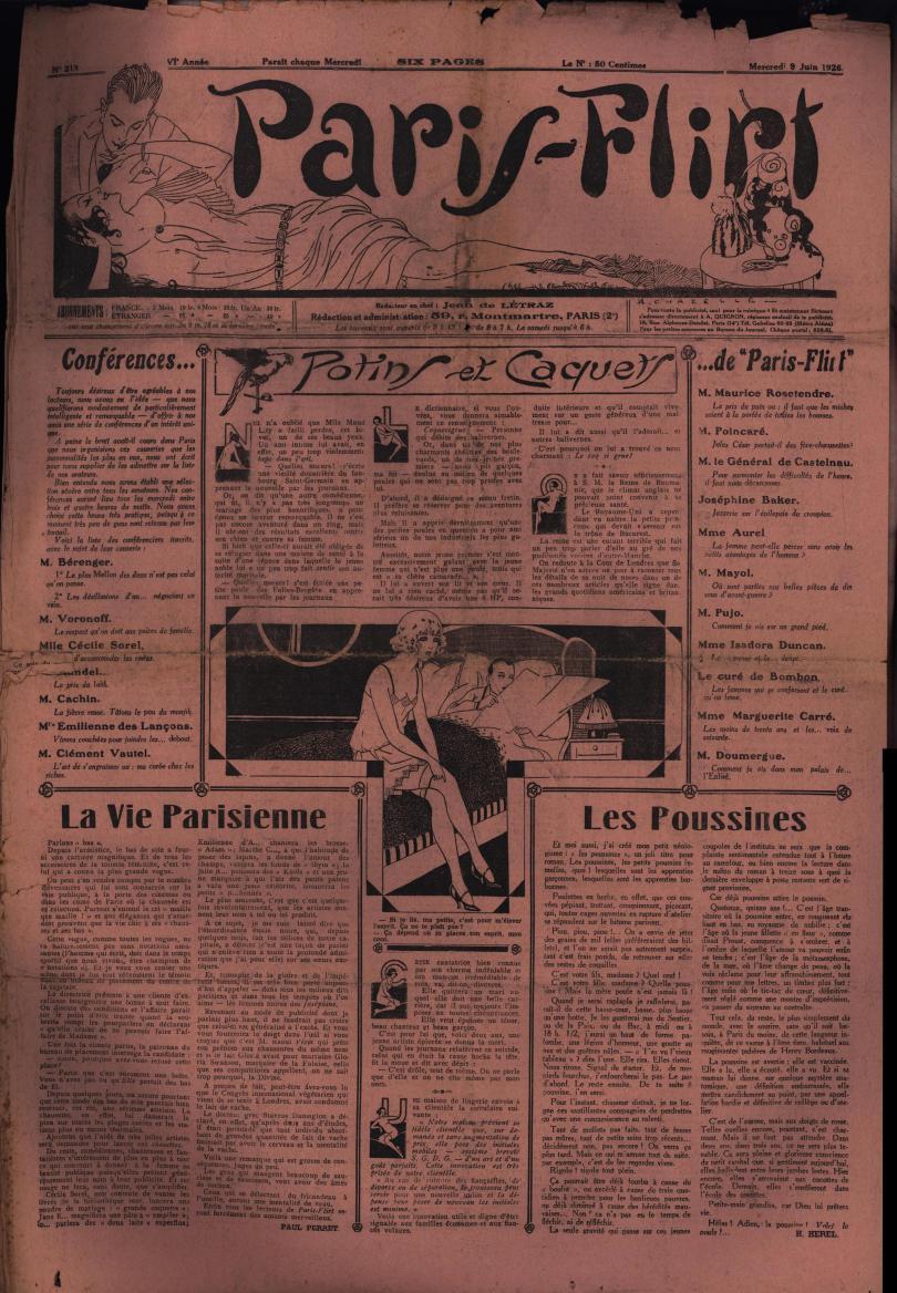 Paris-Flirt 1926 06 09